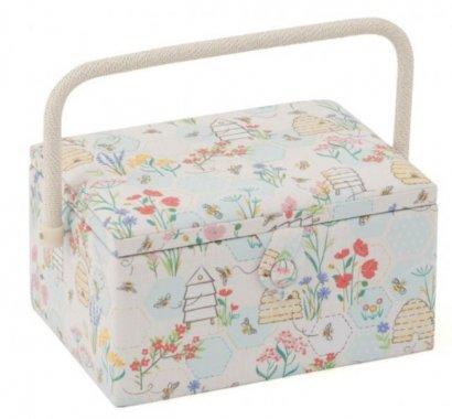 košík na šicí potřeby Sewing Bee 19x26x14,5cm