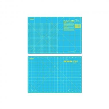 Řezací podložka pro patchwork 470x320x1,5mm tyrkysová