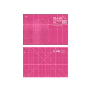 Řezací podložka pro patchwork 470x320x1,5mm pink