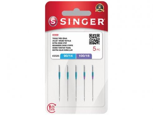 Jehly Singer 2026-90/14,100/16-5ks-Denim