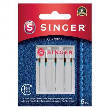 Jehly na kůži Singer 5x90