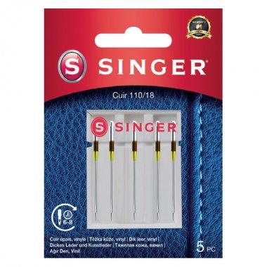 Jehly na kůži Singer 5x110