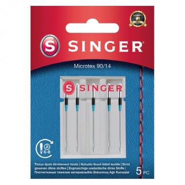 Jehly na mikrovlákno Singer 5x90