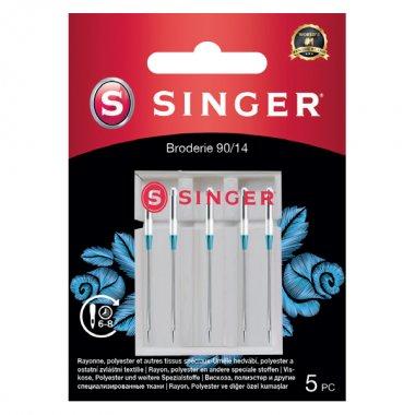 Jehly na vyšívání Singer 5x90