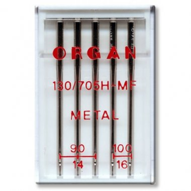 jehly pro metalické nitě 130/705H-MIX 90-100 5ks