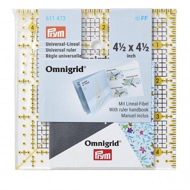 pravítko pro patchwork PRYM 4,5x4,5inch