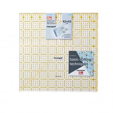 pravítko pro patchwork PRYM 9,5x9,5inch