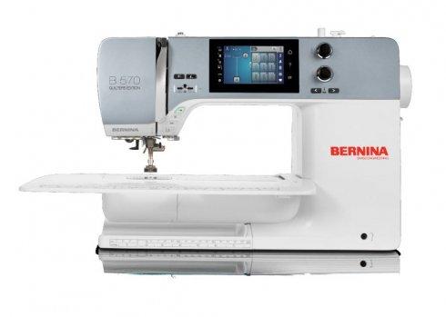 šicí stroj Bernina 570 QE VIO - rozbaleno