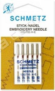 jehly vyšívací 705H/90-5ks Schmetz