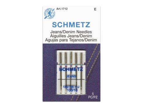 jehla Schmetz 705H/100-5ks Jeans