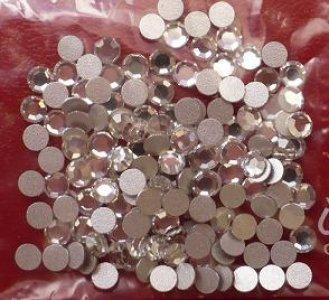 3mm nalepovací kamínky broušené MC-