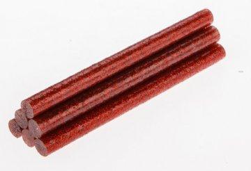 tavná tyčka červené třpytky 8x100mm - 6ks