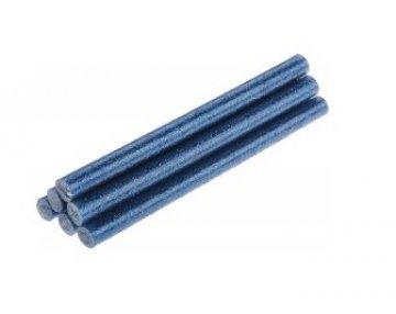 tavná tyčka modré třpytky 8x100mm - 6ks