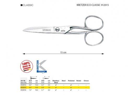 univerzální celokovové nůžky Solingen ECO 15cm