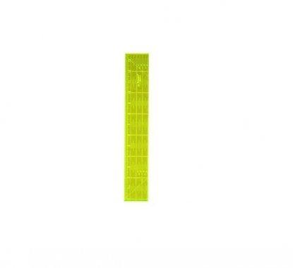 patchworkové pravítko 6,5x24 palců fluorescenční