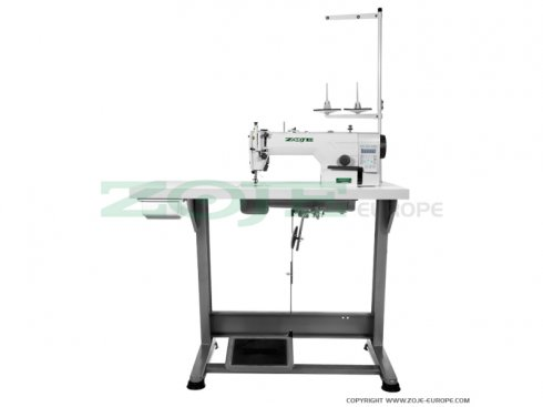 průmyslový jednojehlový šicí stroj ZOJE ZJ9803AR-D3/01-PF   plná elektronická výbava