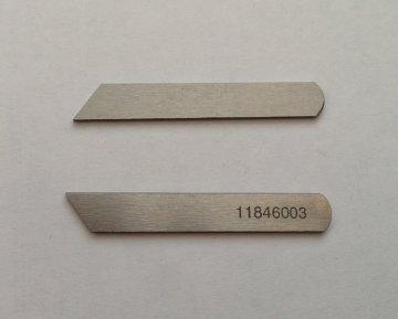 nůž spodní na průmyslový overlock Singer,Pfaff,Juki