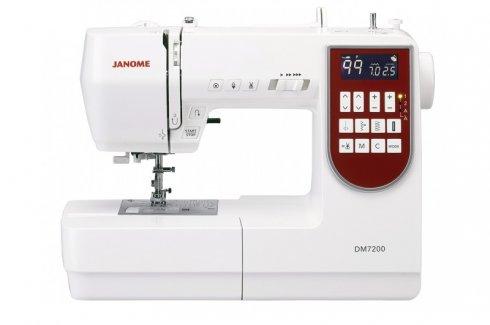 šicí stroj Janome DM7200 + přídavný stolek