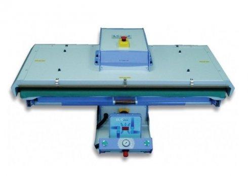 průmyslový žehlící lis PL/T900 90x40cm - pneumatické automatické ovládání