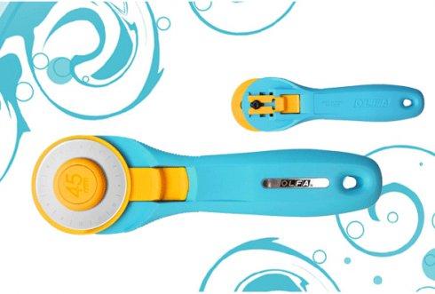 řezací kolečko Olfa 45mm Aqua