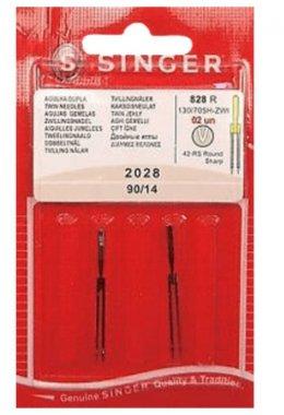 dvojjehly Singer 2028/90 2mm