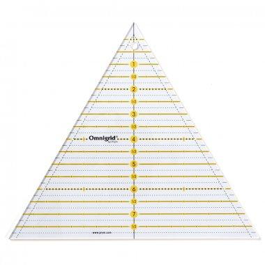 trojuhelník na patchwork inch, 60° 8inch