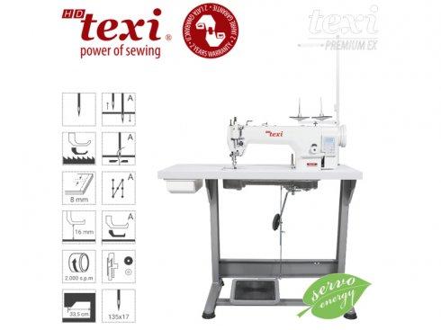 průmyslový šicí stroj TEXI WALKER spodní a patkové podávání