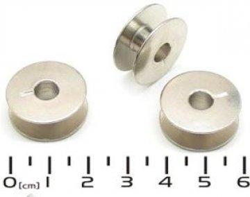 cívka kovová úzká plná poniklovaná B9117-007-0