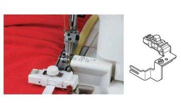 nástavec na šití gumových pásků