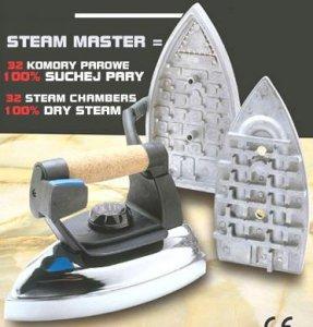 žehlička průmyslová Steam Master