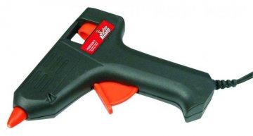 lepící pistole na tavné tyčky + 2x tavná tyčka