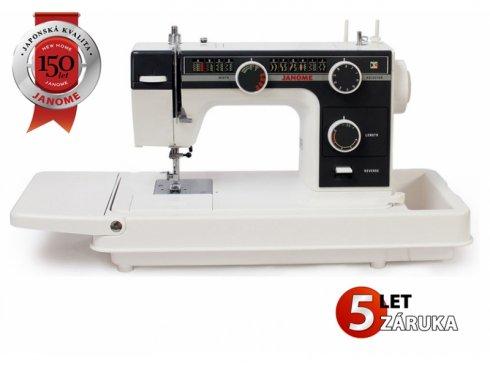 kufříkový šicí stroj Janome 393
