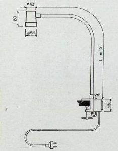 halogenová lampa LBH-B65 24V/20W-