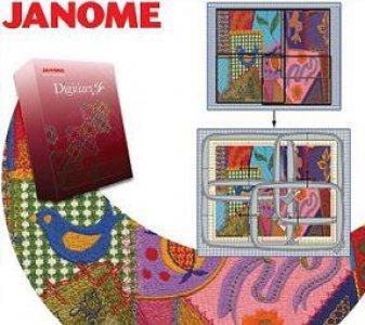 Vyšívací program Janome Digitizer Jr V5