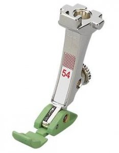 patka na přišívání zipů s teflonem Bernina 008479.73.00