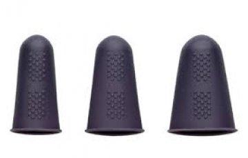 chrániče prstů při žehlení silikonové 3ks, vhodné při žehlení sámků, švů, sežehlování šikmých proužků a pod.