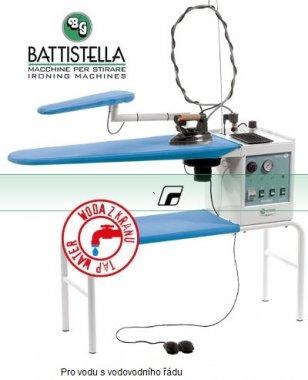 Žehlící prkno Battistella Vulcano s vyvíječem a žehličkou.  40x106cm