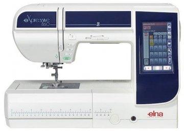 šicí a vyšívací stroj Elna eXpressive 860