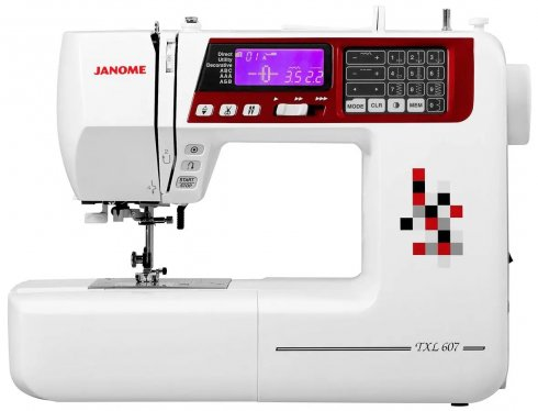 šicí stroj Janome 607 TXL
