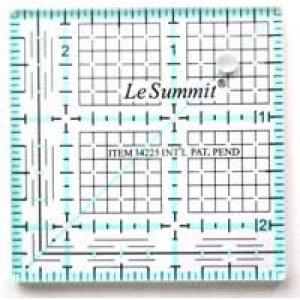 patchworkové pravítko 2,5x2,5 palců