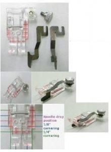 Průhledná quiltovací patka s vodičem 200449001 JANOME