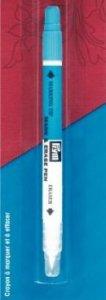 aqua fix textil modrý-vodou mizící + zmizík